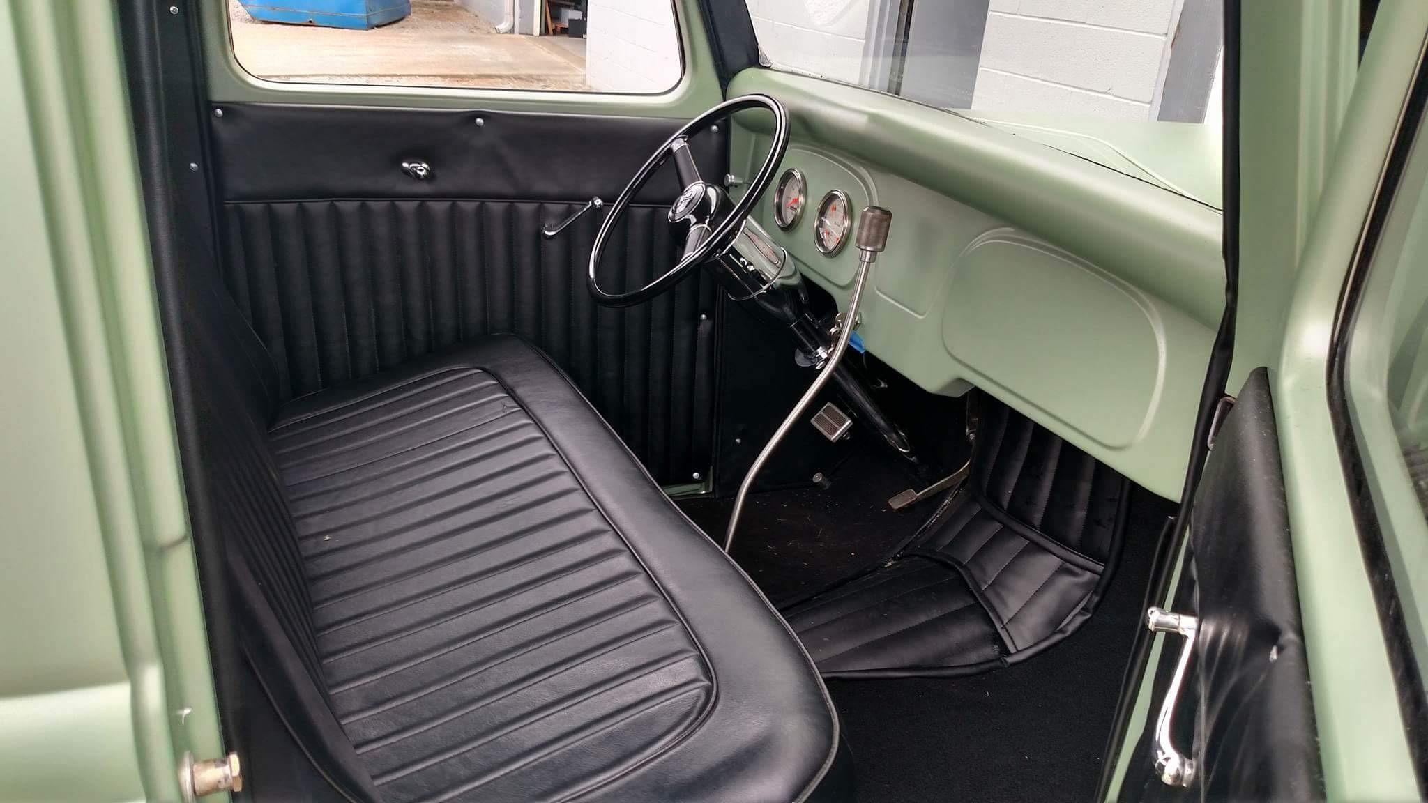 Raffle Car Interior